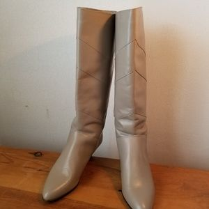Jacques Cohen Vintage Leather Boots, Size 10B